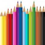 Kostenloser Download Vektorgrafik bunte Farbstifte