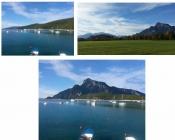 Mit Fotobearbeitung Berge versetzen