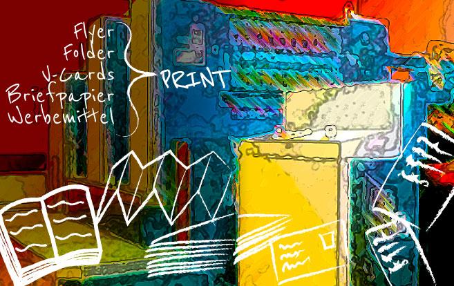 Layouterstellung - Drucksorten - Grafik - Printdesign Salzburg - Webdesignerin Ursula ZAuner